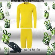 Pack Sous-vêtements Uhlsport Jaune 1