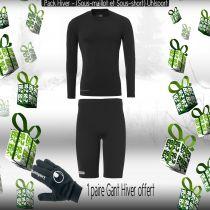 Pack Sous-vêtements Uhlsport Noir