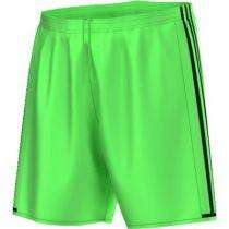 Short Adidas Condivo vert flash sur la Boutique du gardien BDG