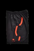 Short de gardien Uhlsport Torwartech Noir/Orange