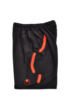 Short de gardien Uhlsport Torwartech Noir/Orange
