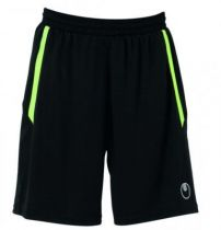 Short Junior Uhlsport Team Noir/Vert Flash 2012