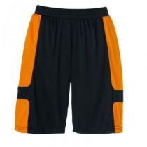 Short Uhlsport Cup Noir/Orange 2012