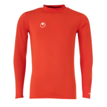Sous Maillot Junior Baselayer Uhlsport Rouge