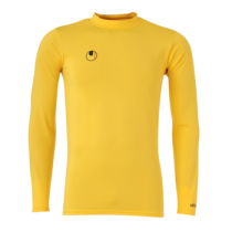Sous Maillot Uhlsport Baselayer Jaune