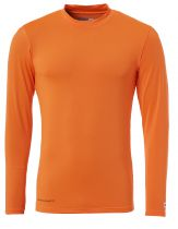 Sous Maillot Uhlsport Baselayer Orange Fluo