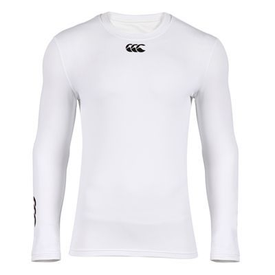 Sous-Vêtement Canterbury Cold Long Sleeve Top Blanc