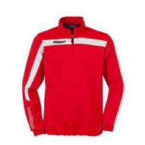 Sweat Liga 1/4 Zip Top Uhlsport Rouge