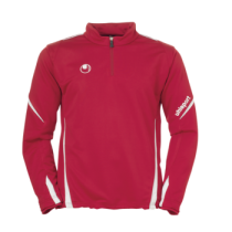 Sweat Training Team Uhlsport 1/4 Zip 2012 Rouge