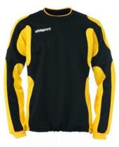 Sweat Training Uhlsport Cup Noir/Jaune Mais 2012