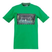 Tee-Shirt  Junior Matrix Vert Uhlsport 2015