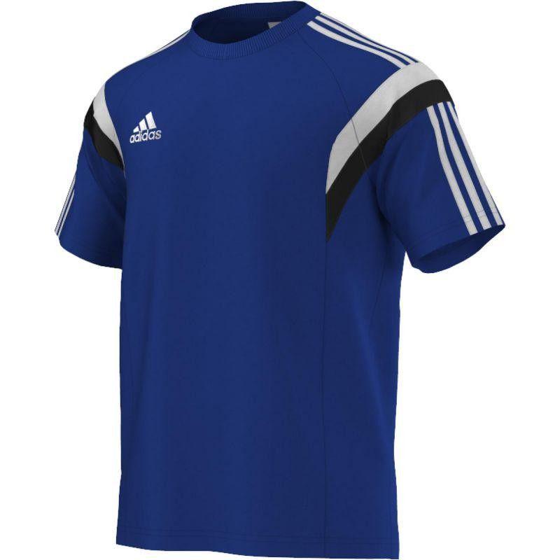 Tee Shirt Training Adidas Bleu