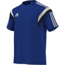 Tee Shirt Training Adidas Bleu