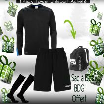 Tenue de Match Junior Tower Uhlsport Vert 2016